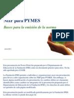 NIIF PARA PYMES preguntas y respuestas Sección 11