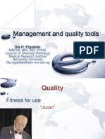 Management and Quality Tools, Ola Elgaddar, 2013