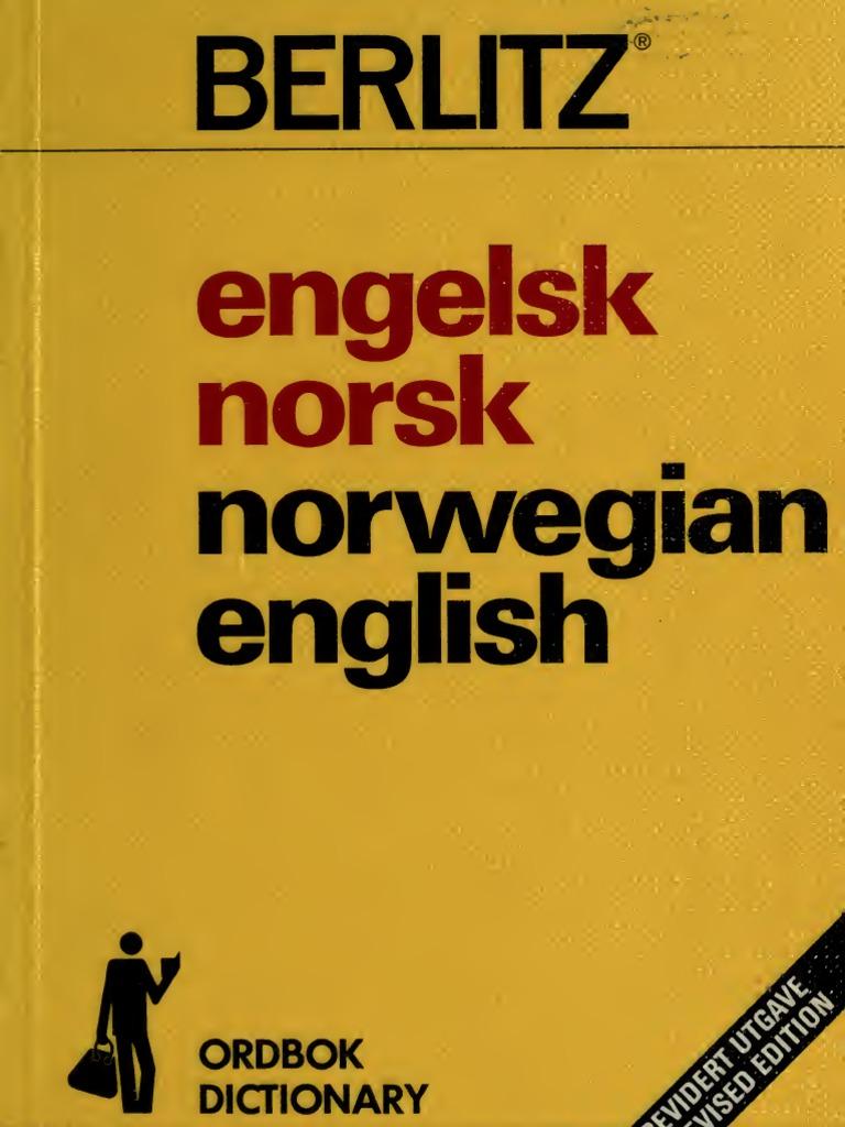 79a4af99 Engels k Norsk Norsk Ord Bok