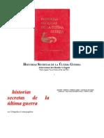 2078dc206 Selecciones Readers Digest - Historias Secretas de La Ultima Guerra