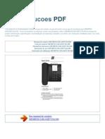 manual-do-usuário-SIEMENS-GIGASET DA100-P