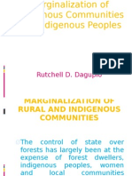 Marginalization communities indigenous people