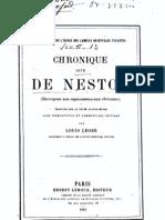 Chronique de Nestor