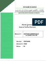 Www.9ra.info Cxmthckcutfwifmfxvtekktuq Module GESTION COMMERCIALE SUR SAGE LIGNE 100