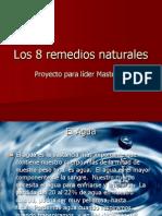 Los 8 Remedios Naturales