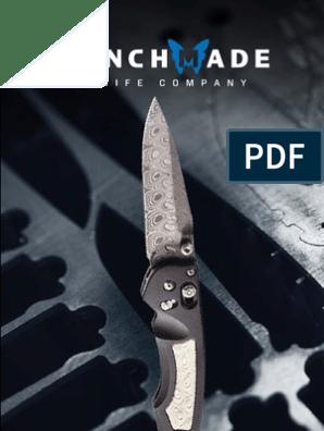 2013 Benchmade Catalog | Knife | Blade