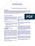 Management Training Mitchell Phoenix - A Microsoft Case History