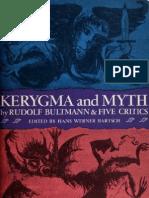 Bultmann Kerygma Myth