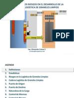 Analisis de Riesgos en La Logistica Graneles Limpios Alx Eslava Feb 2013