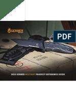 Gerber 2013 Military Catalog