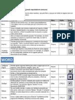 Info_teclas de Comando Word