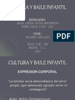 Cultura y Baile Infantil