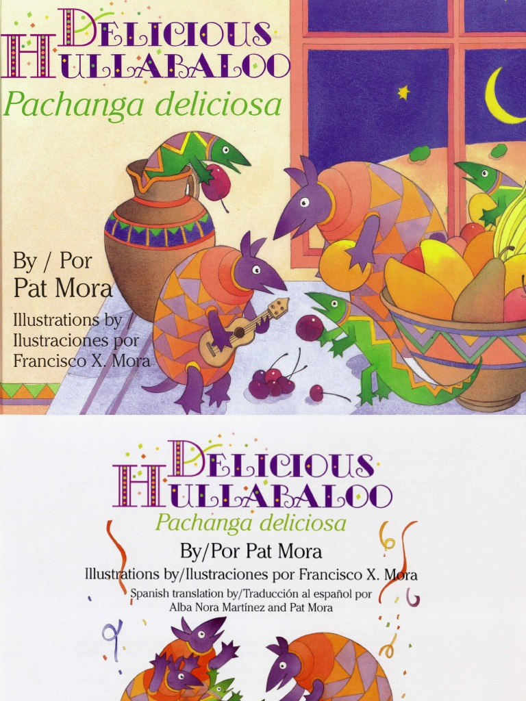 Delicious Hullabaloo by Pat Mora   Works   Poetry