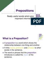 Class Prepositions