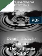 Desaromatização a Furfural 2003