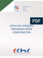 Lista Chequeo Buen Constructor CCHC