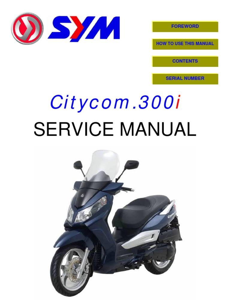 ... Array - sym citycom 300i en motor oil screw rh scribd ...