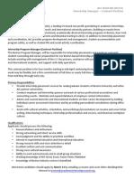 Contract Position Description[9][4]