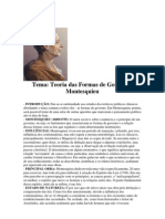 Teoria das Formas de Governo - Montesquieu.docx