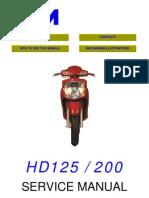Sym HD 125 - 200 (EN)