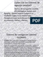 GPS - Sistemas de Navegacin Satelital
