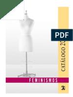Catalogo de Libros Sobre Feminismo - Genero