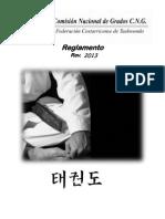 Reglamento Comision Nacional de Grados FCT Rev2013