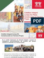 45Plan Piloto Credito Integral 2011 Final. CMIC
