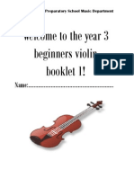 Violin Booklet 1