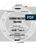 1942 US Army WWII German Military Training 113p