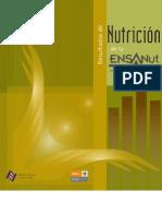 Resultados de la ENSANUT 2006 Nutrición