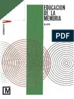 Wood, Ernesto - Educación de la memoria