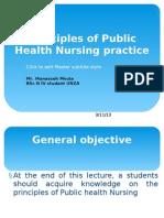 Principles of Public Health Nursing Practice_ppt Lecture