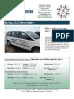 FRC/PLC Spring Newsletter