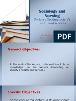 Sociology and Nursing-PPT