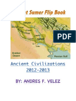 ancient sumer flip book