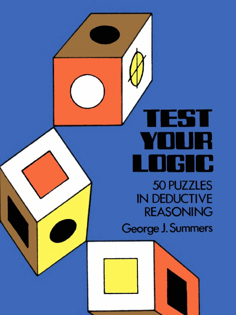 George j summers test your logic 50 puzzles leisure fandeluxe Images