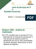 ITIL - QuestSes de Provas