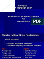 NUR 201 Diabetes Powerpoint