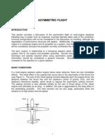 Asymmetric Flight