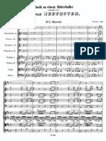 Beethoven Musik Zu Einem Ritterballet WoO1