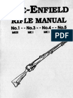 WWII British Lee Enfield Rifles Operators Manual 11p.