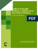 Informe Individual y General en La Seleccion de Personal