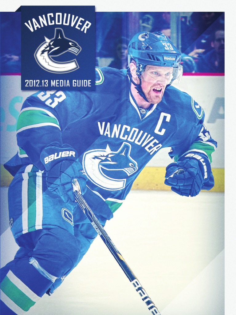 Vancouver Canucks Media Guide | National Hockey League Teams | Ice ...