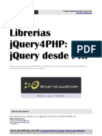 Manual Jquery4php