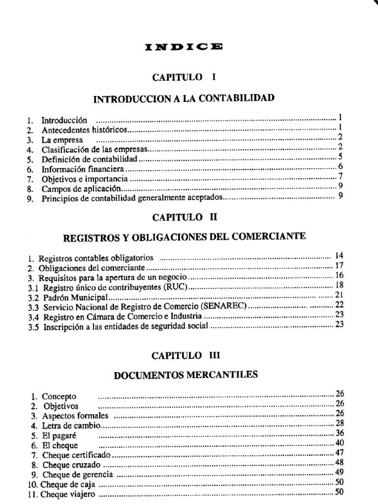 El ABC de La Contabilidad ; Juan Funes Orellana