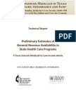 Medicaid Expansion-Available GR Estimates