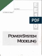 POWER SYSTEM MODELING