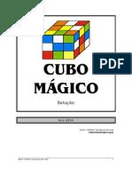 Solução do Cubo Magico