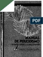 Leñero Vicente Y Carlos Marin - Manual De Periodismo